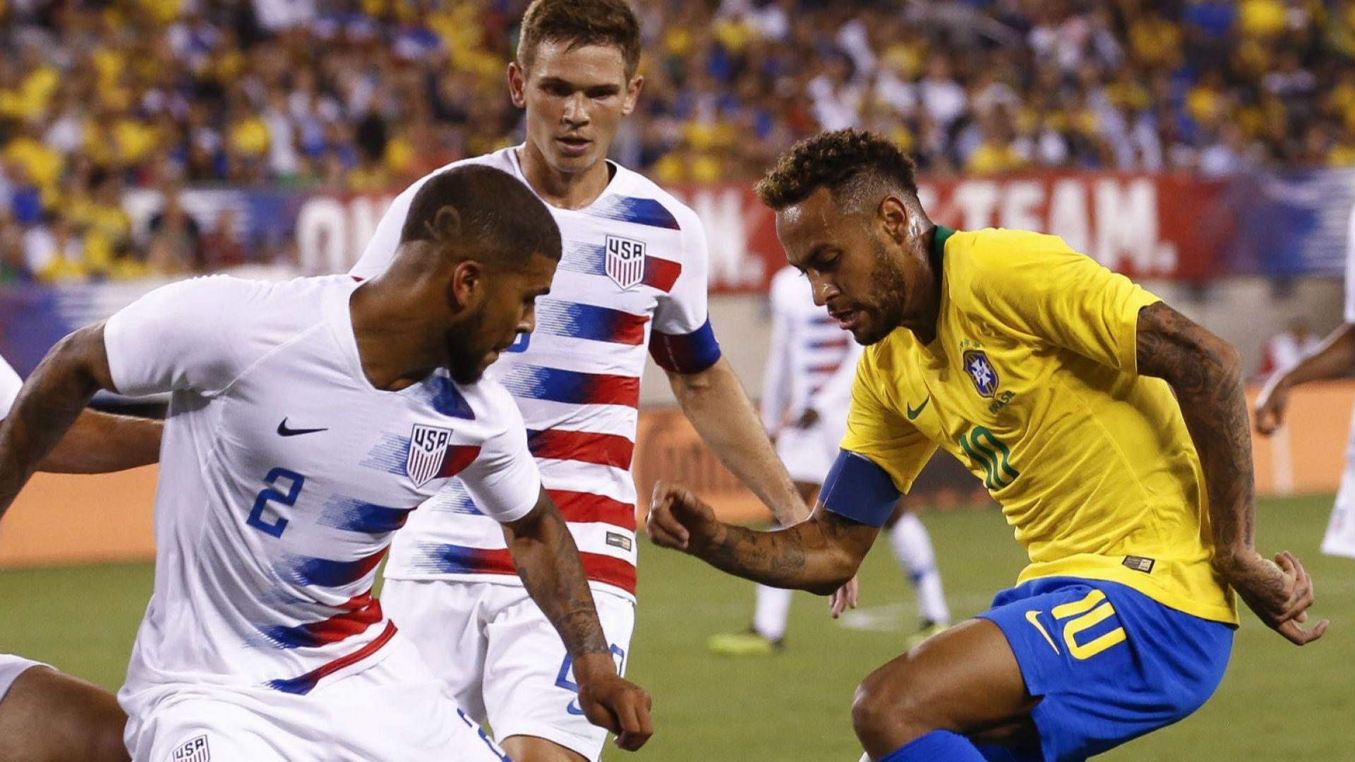Бразилия спечели визитата си в САЩ
