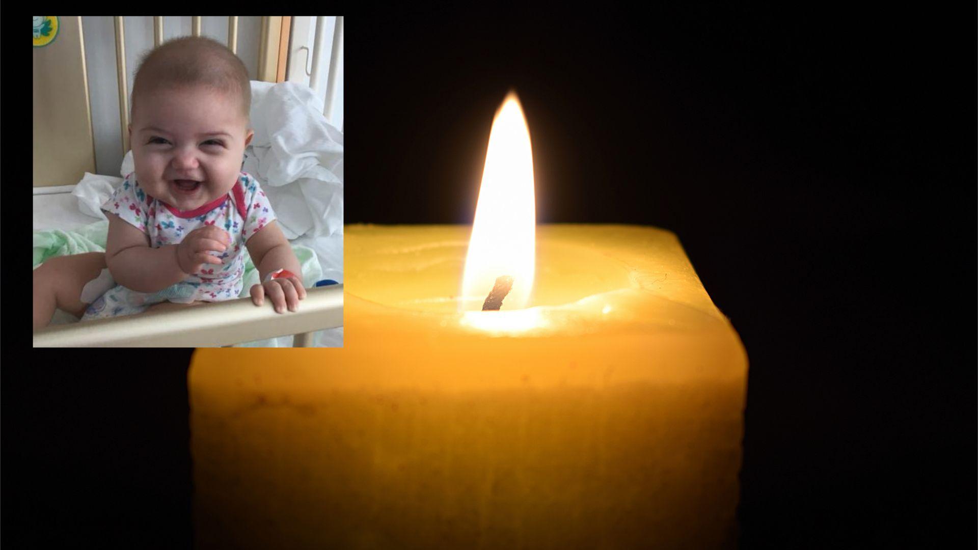 Бебе Мартина не успя да стане на 1 г., левкемията я победи