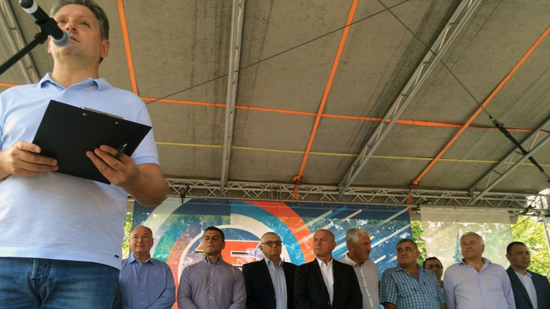 """Приятели на Русия се събраха за петнадесети път край язовир """"Копринка"""""""
