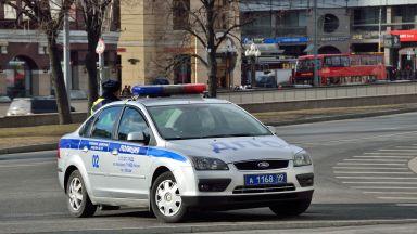 Автомобил се вряза в пешеходци в Москва, има загинал