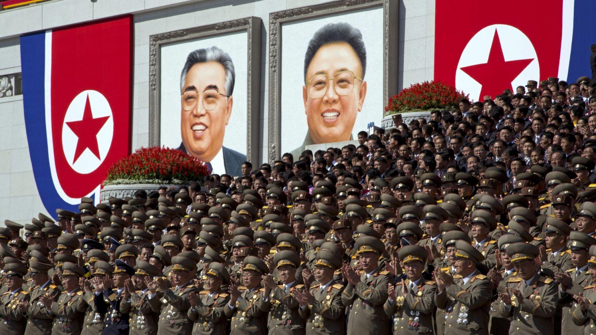 Ким Чен-ун не произнесе реч по случай 70-ата годишнина от основаването на Северна Корея