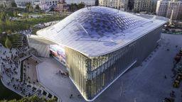 """Откриха новата московска концертна зала """"Зарядие"""""""