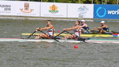 Четири български лодки на Световната купа, травма извади европейски шампион