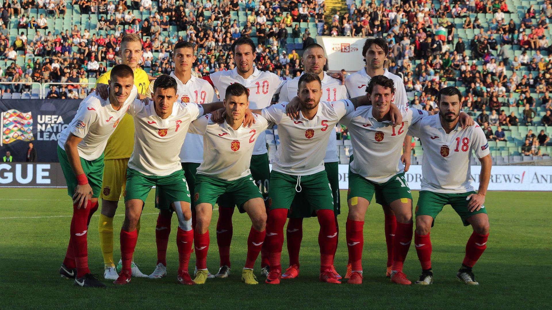 Историческо завръщане в националния отбор (състав)