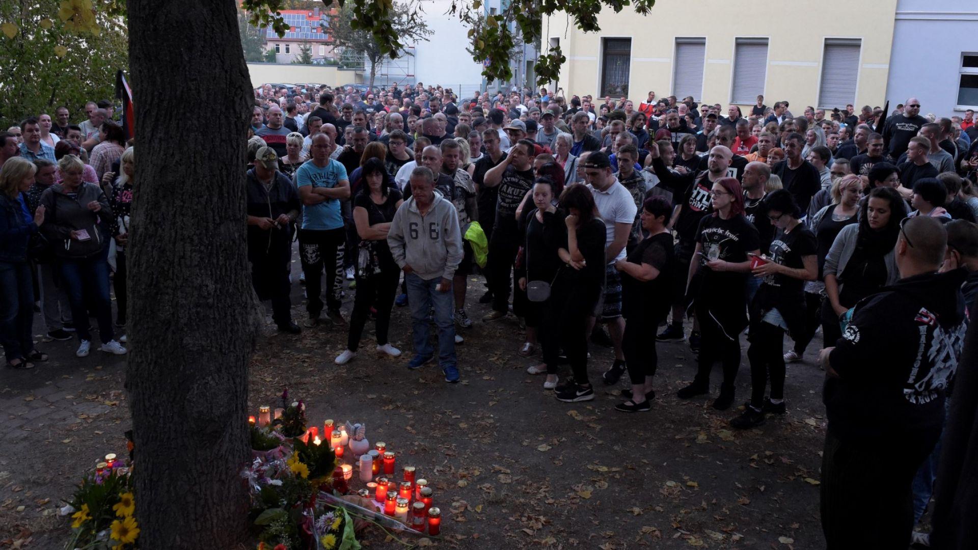 Хиляди протестираха заради смъртта на млад германец след сбиване с мигранти