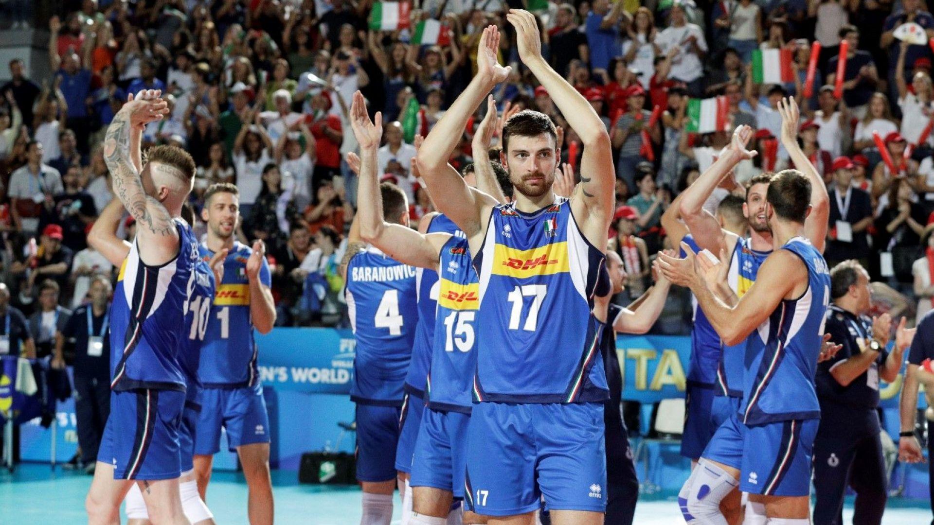Италия също започна ударно на Мондиала