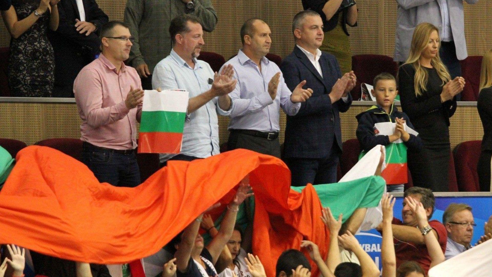 Президентът към волейболистите: Играхте красиво (видео)