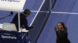 Спряха съдията от скандалния финал на US Open за мачове на сестри Уилямс