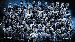 ФИФА обяви списък с 55-те най-добри футболисти в Европа