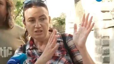Жената, ударена от разбеснял се собственик на джип, проговори