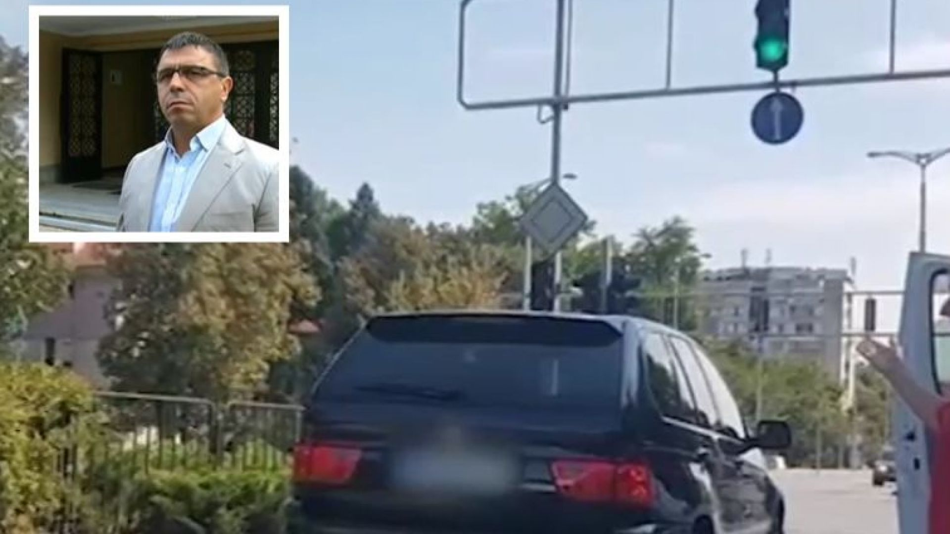 Полицията: Няма доказателства за удари между шофьори в Пловдив