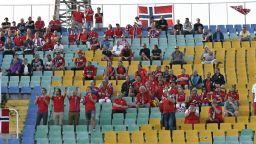 Трима фенове на Норвегия са бити от българи преди мача
