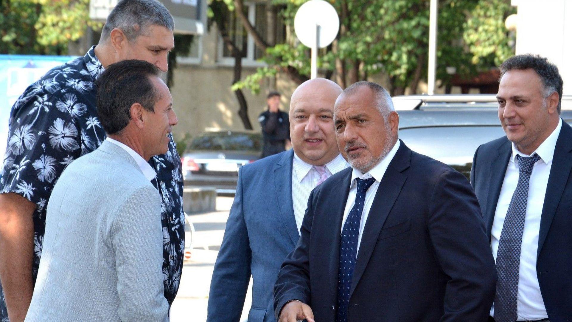 Борисов посети Варна и се срещна с волейболистите