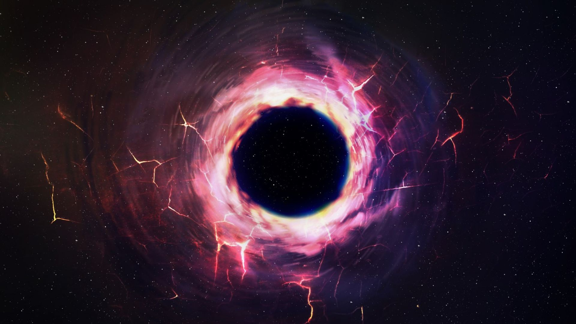 Откриха огромна черна дупка с маса 70 пъти по-голяма от Слънцето