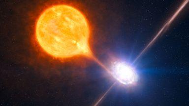 Свръхмасивната черна дупка в нашата галактика се разбуди