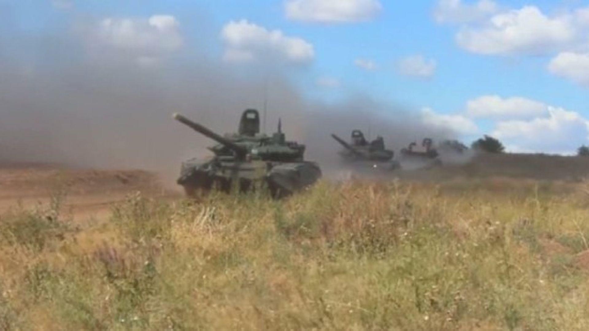 НАТО: С учението Русия се готви за голям конфликт