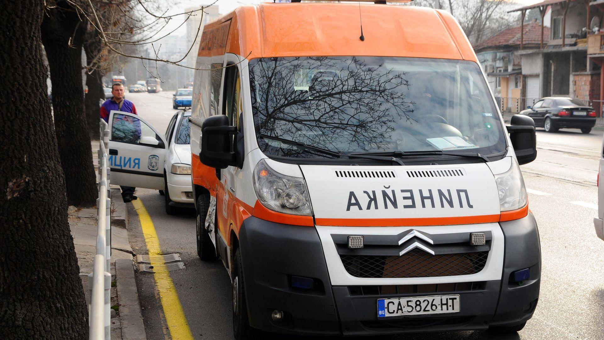 """Мъж загина, дете е тежко ранено при катастрофа на """"Цариградско шосе"""""""