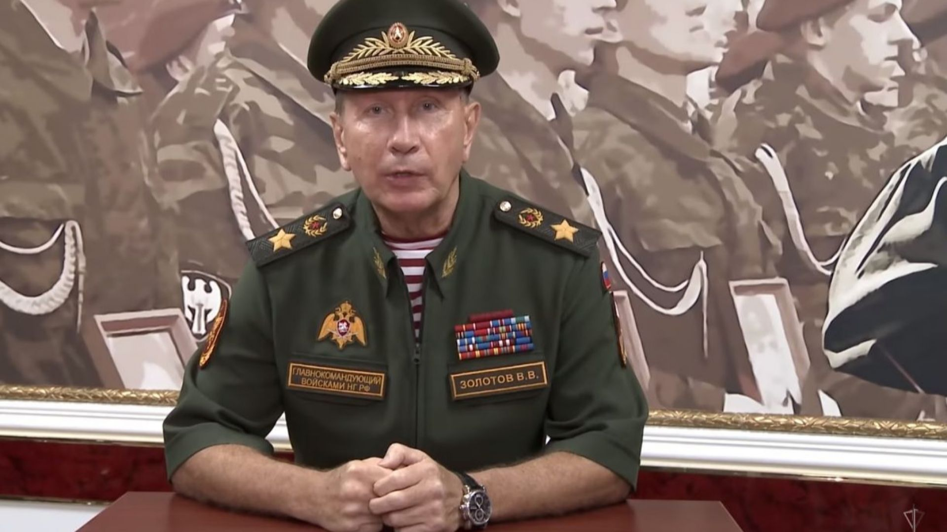 Началникът на Националната гвардия на Русия призова Навални на двубой (видео)