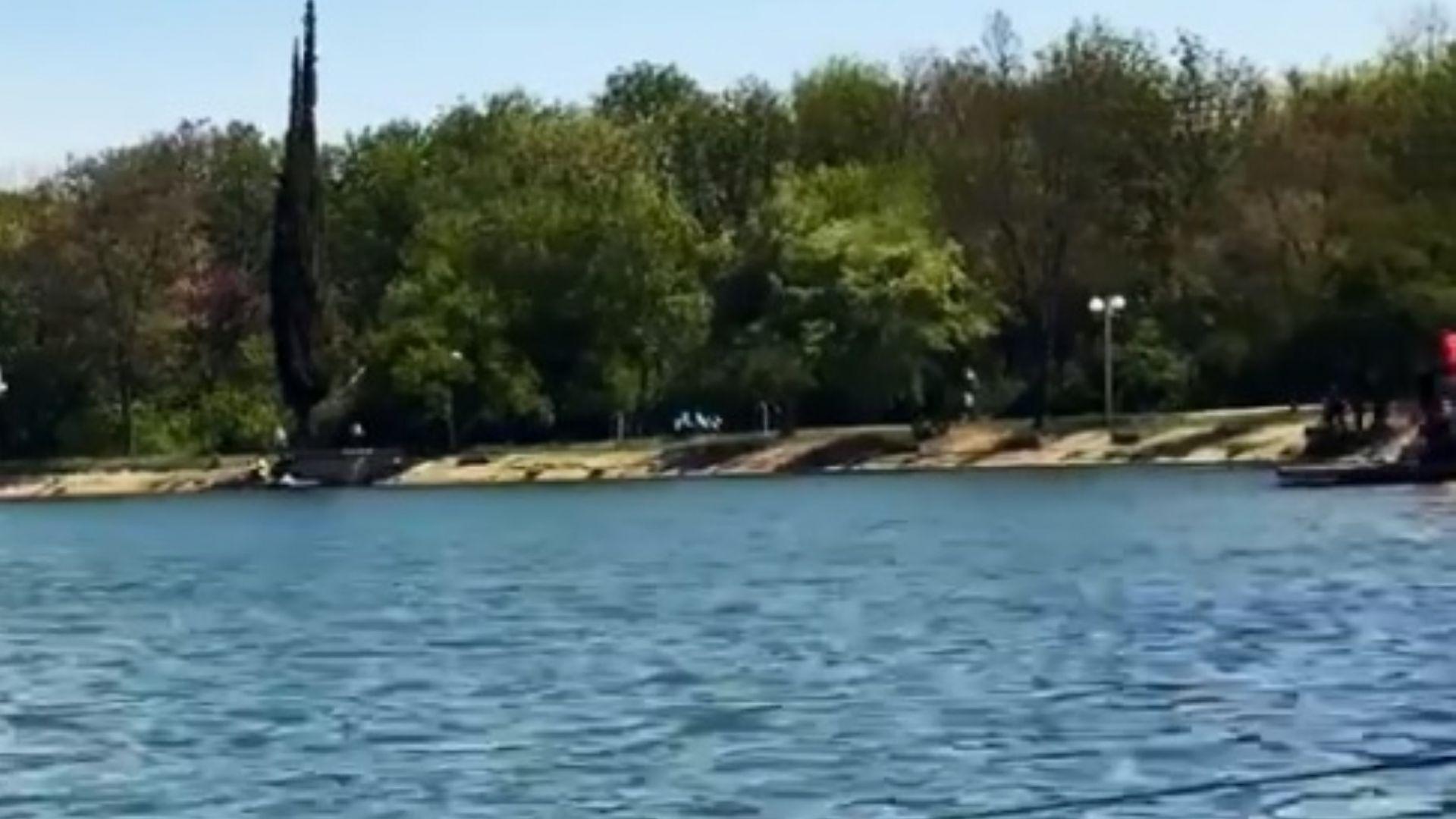Мъж се удави в езеро пред очите на десетки в Стара Загора