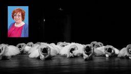 Почина Катя Димитрова, съпруга на създателя  на Международния балетен конкурс - Варна
