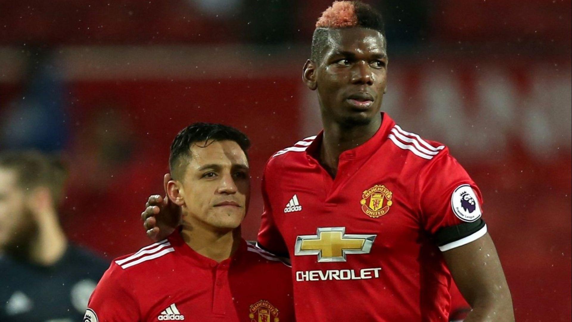 Погба иска заплатата на Санчес, за да остане в Юнайтед