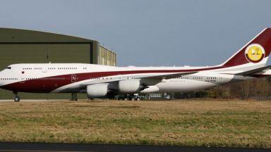 Емирът на Катар подари на Ердоган луксозен самолет за $400 милиона
