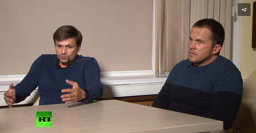 Обвинените, че са отровили Сергей Скрипал и дъщеря му бивши агенти на ГРУ заявиха, че са били в Солсбъри като туристи