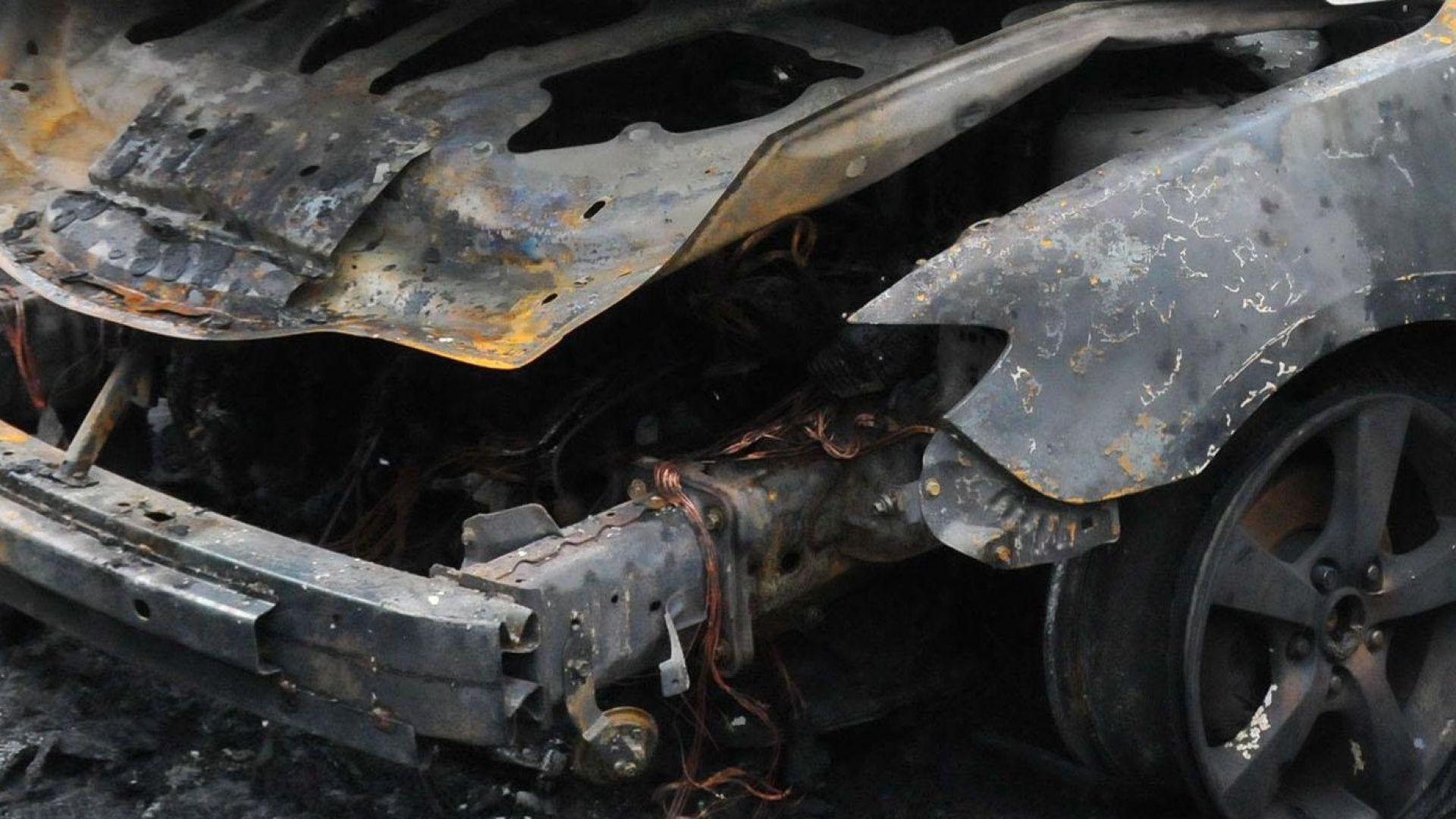 Спипаха 35-годишен русенец, запалил автомобил