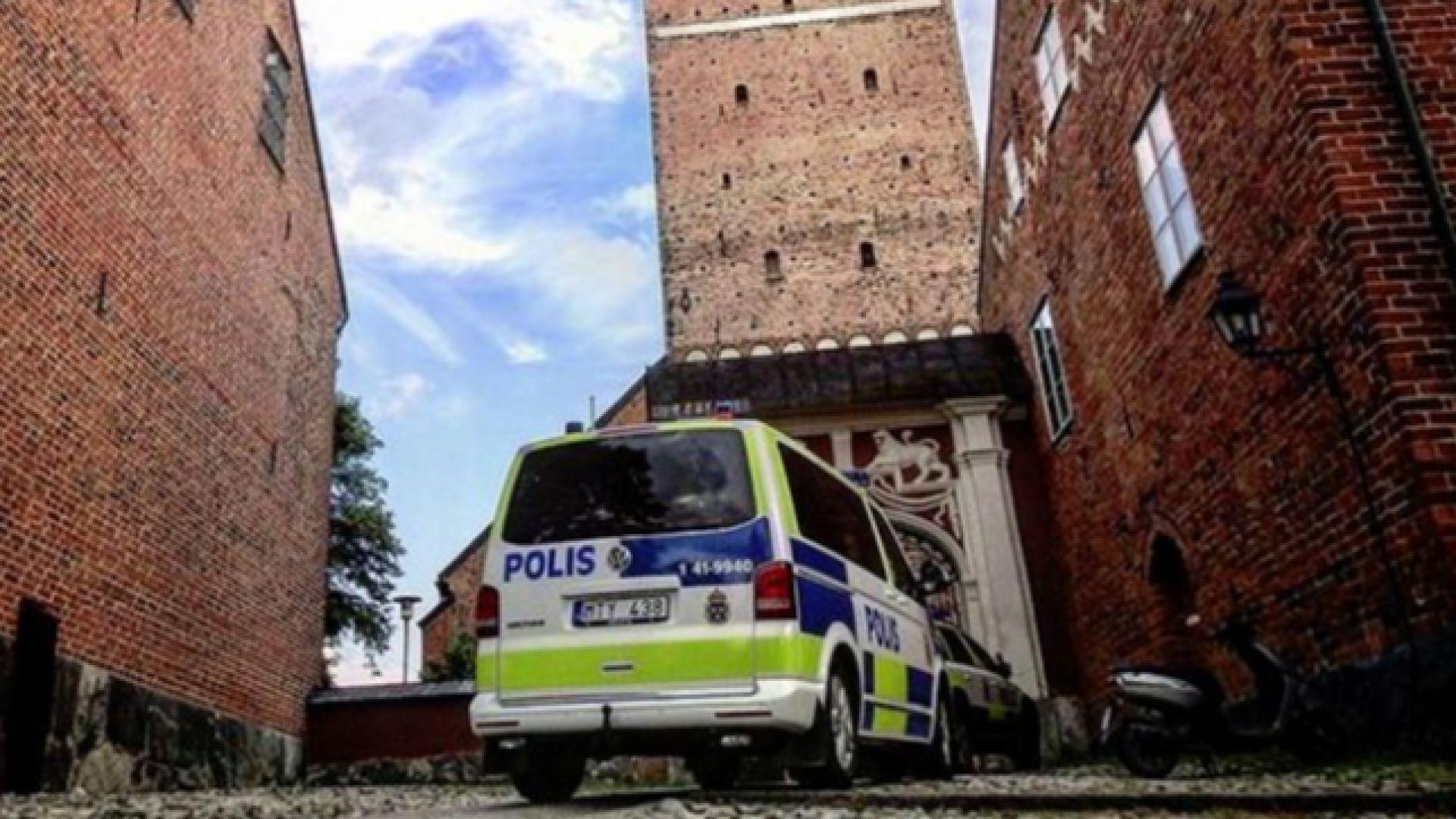 В Швеция арестуваха крадеца на короната на Карл IX