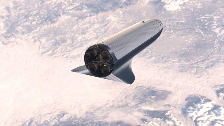 Освен товари на Земята, военният Starship ще може да доставя оръжия и до околоземна орбита