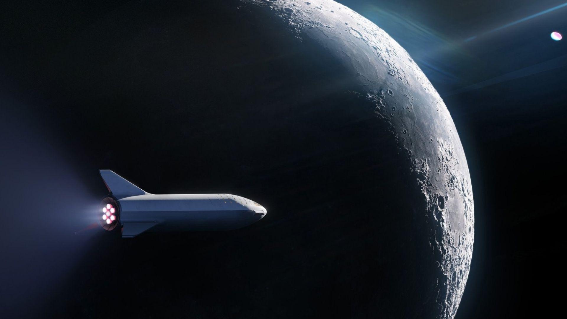 SpaceX сключи договор с първия турист до Луната