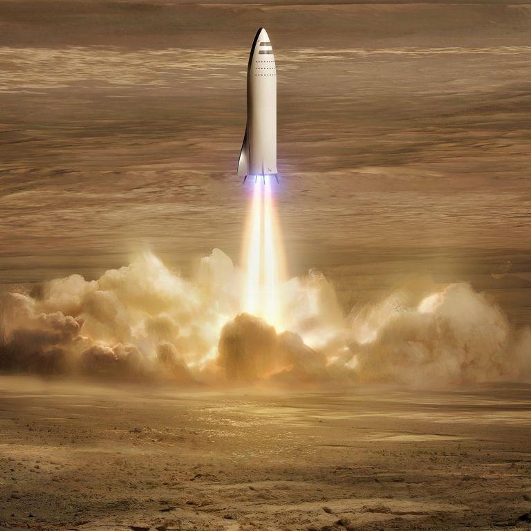 Илон Мъск публикува снимки на базата си на Марс