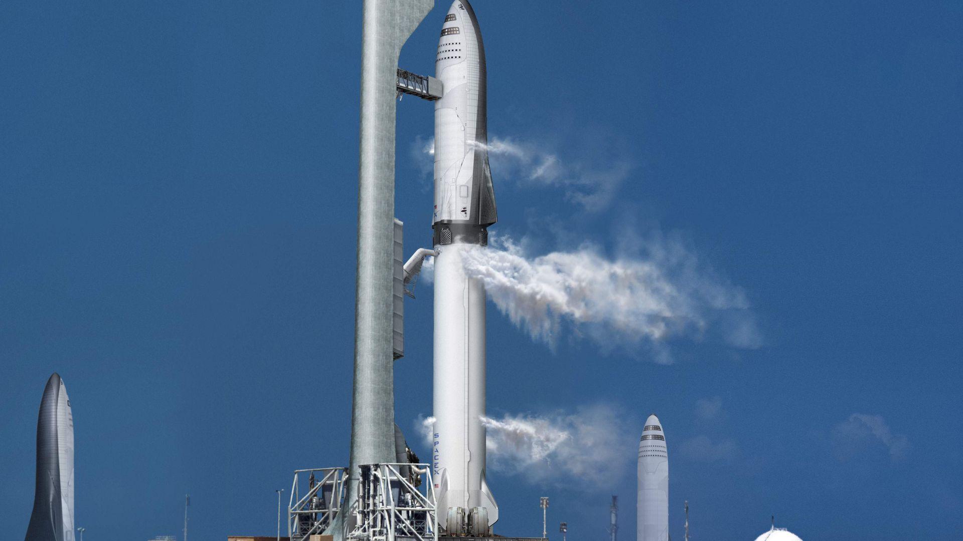 SpaceX ускорява работата по новата си ракета