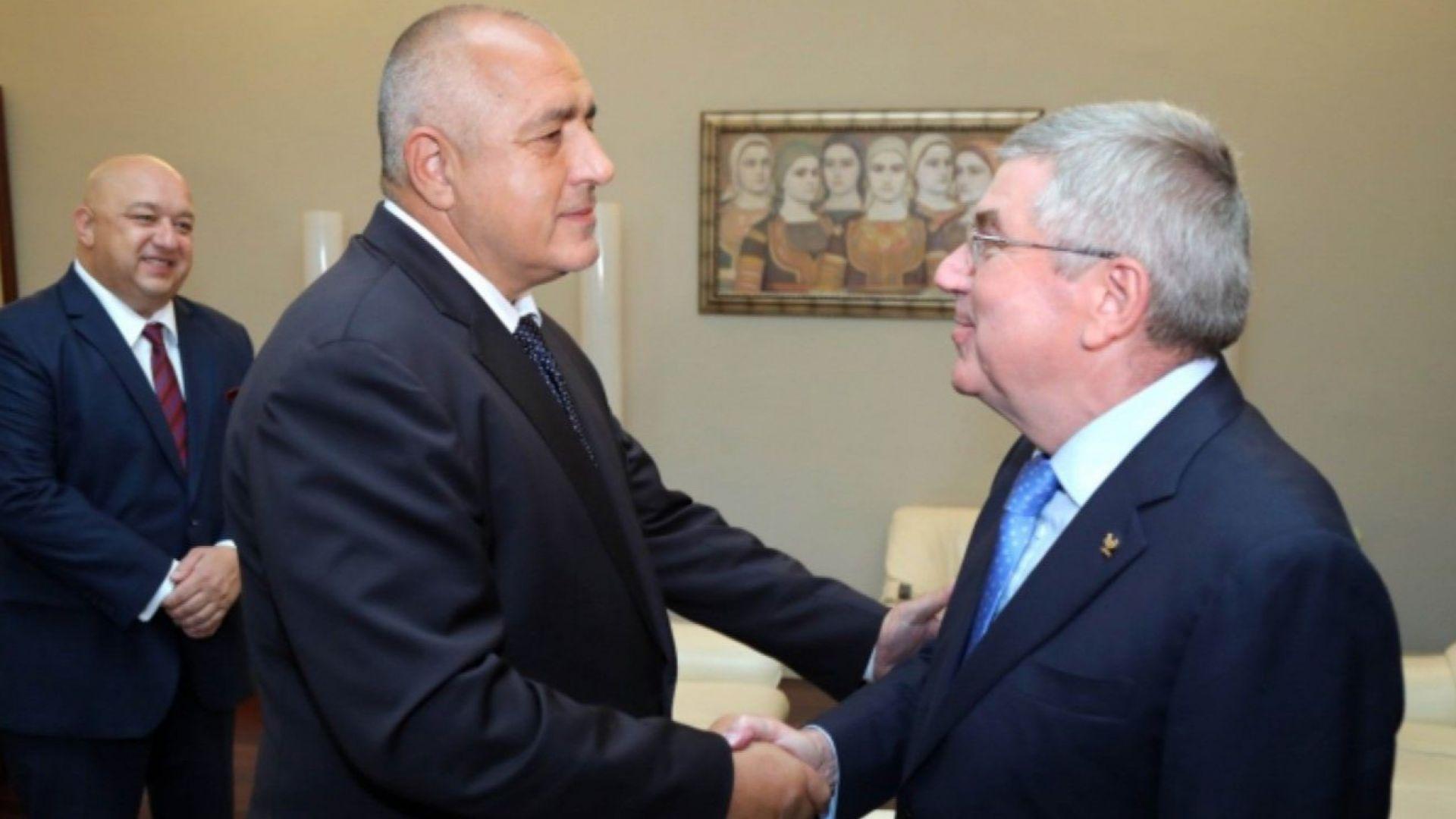 Бойко Борисов се срещна с шефа на МОК