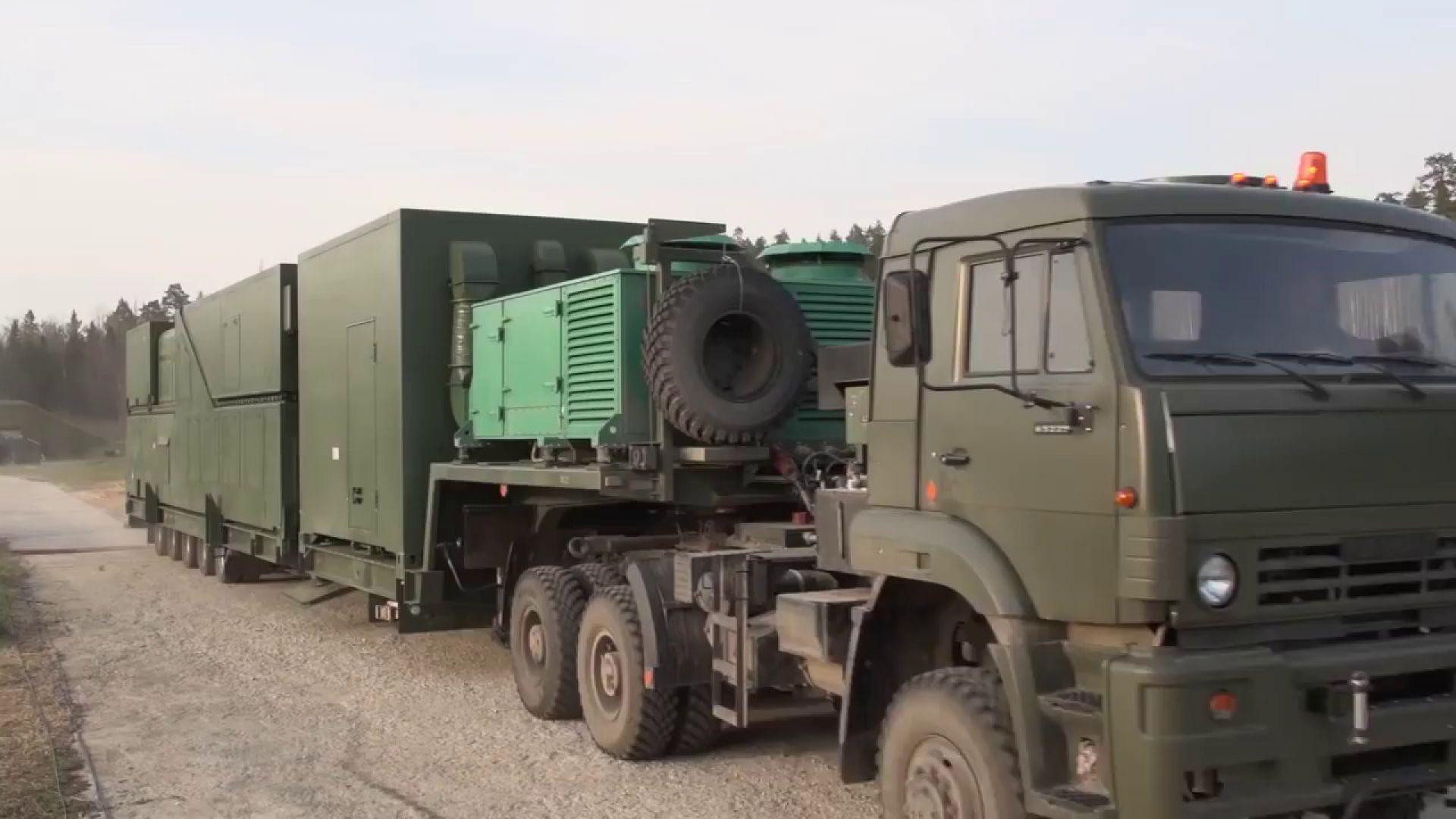 Заснеха руското лазерно супер оръжие на влак