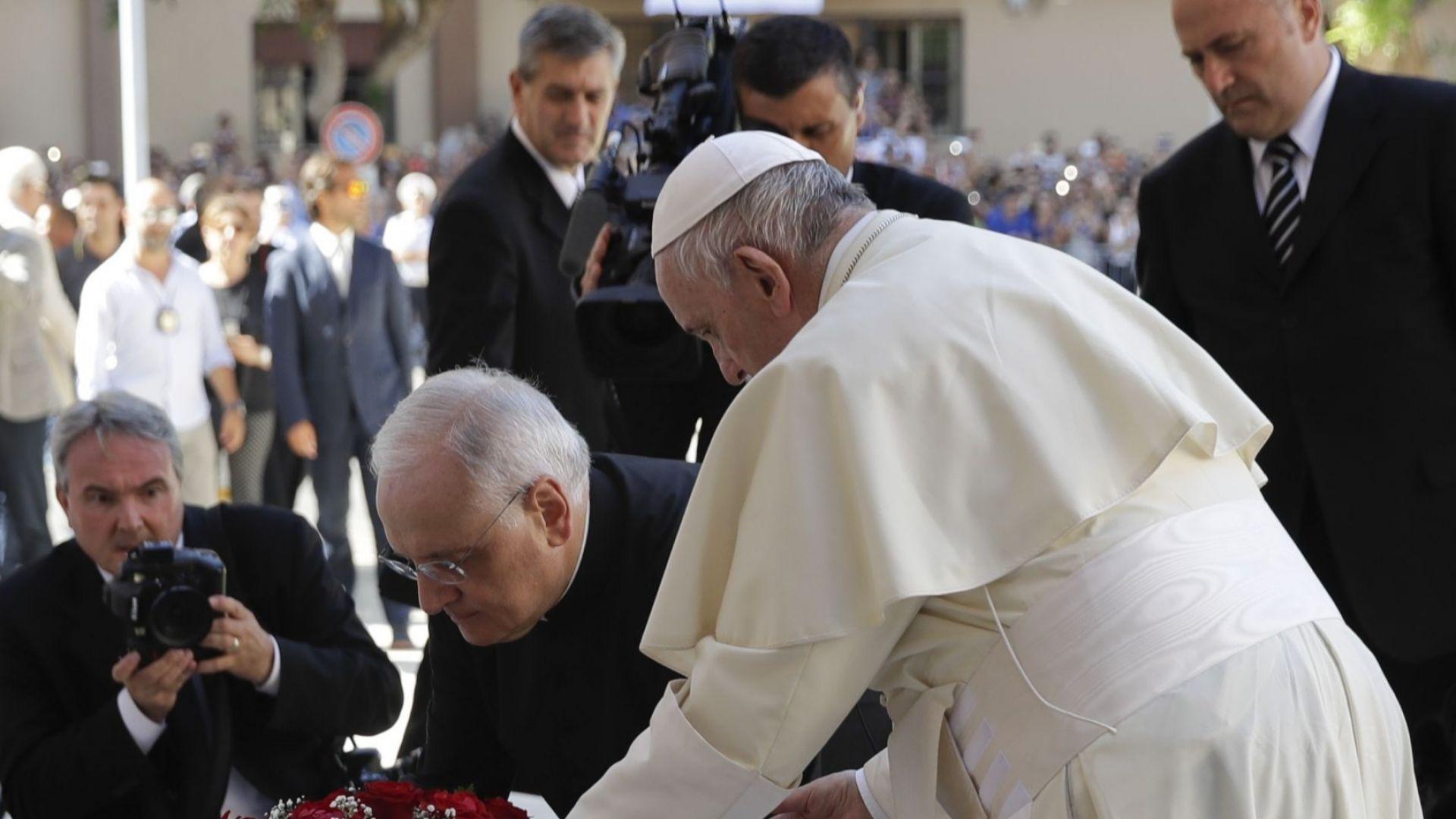 Папа Франциск: Мафиотите не живеят по християнски