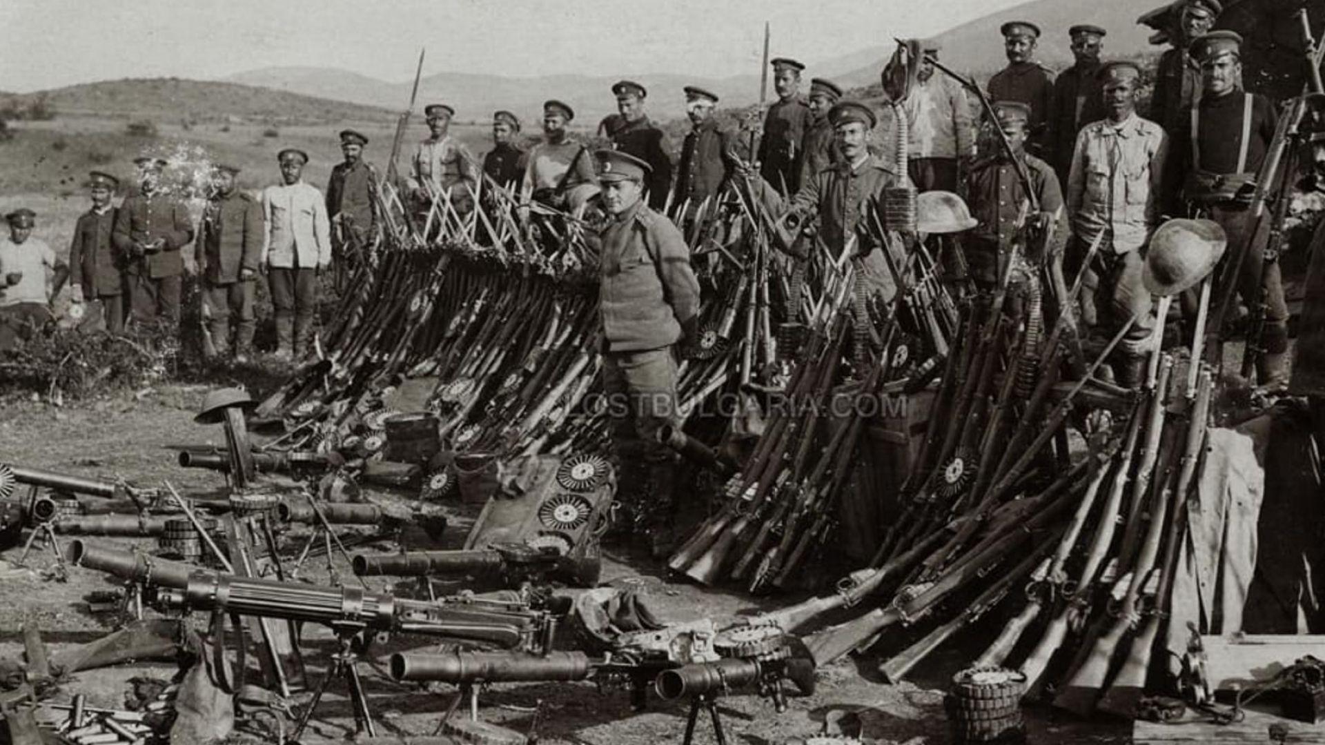 Стотици участваха в епична възстановка за 100 г. от боевете край Дойран (видео)
