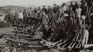 Епична възстановка за 100 г. от боевете край Дойран (видео)