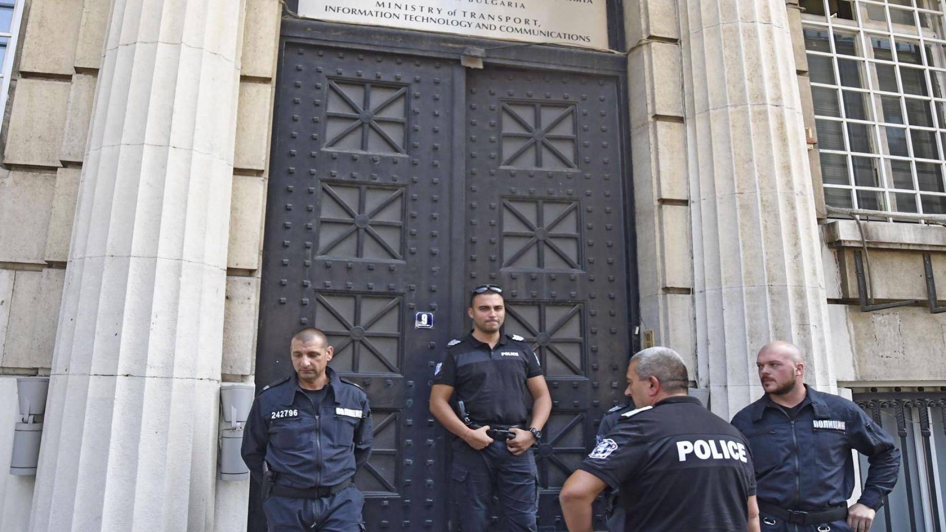 Полицията със спешни мерки за опазване на реда днес