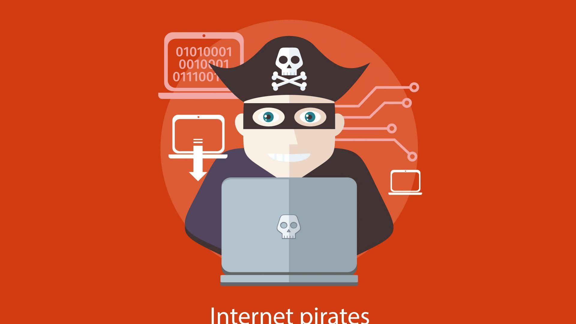 Пиратството на филми и игри замира на Запад