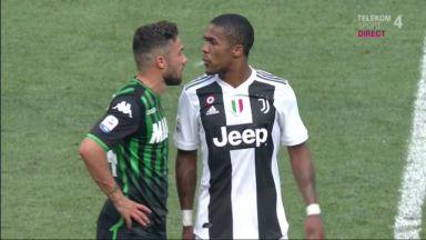Съотборник на Роналдо побесня в края на мача със Сасуоло