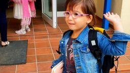 Първият учебен ден на дъщеричката на Цецо Елвиса