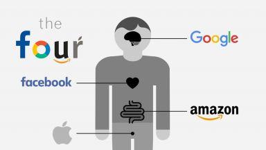 """""""The Four: скритата ДНК на """"Епъл"""", """"Амазон"""", """"Фейсбук"""" и """"Гугъл"""" излезе на български език"""