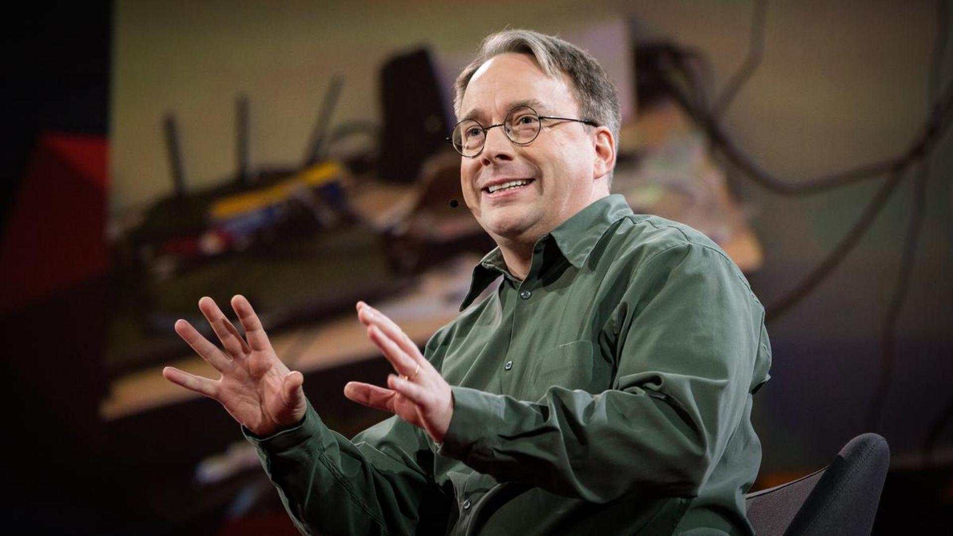 Линус Торвалдс се оттегля от Linux