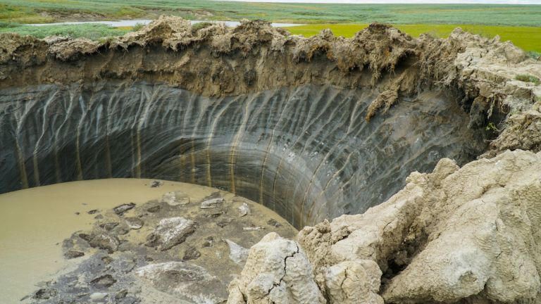 Криовулкан избухна в Арктика