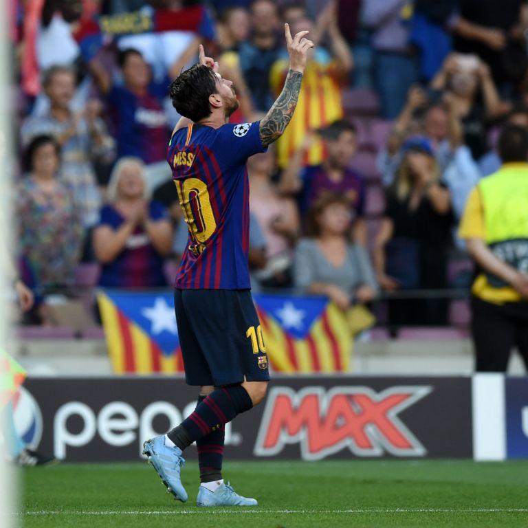 Гениалният Меси поведе Барса напред в Шампионската лига