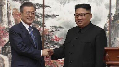 Лидерите на Северна и Южна Корея подписаха споразумение, Ким Чен-ун отива в Сеул