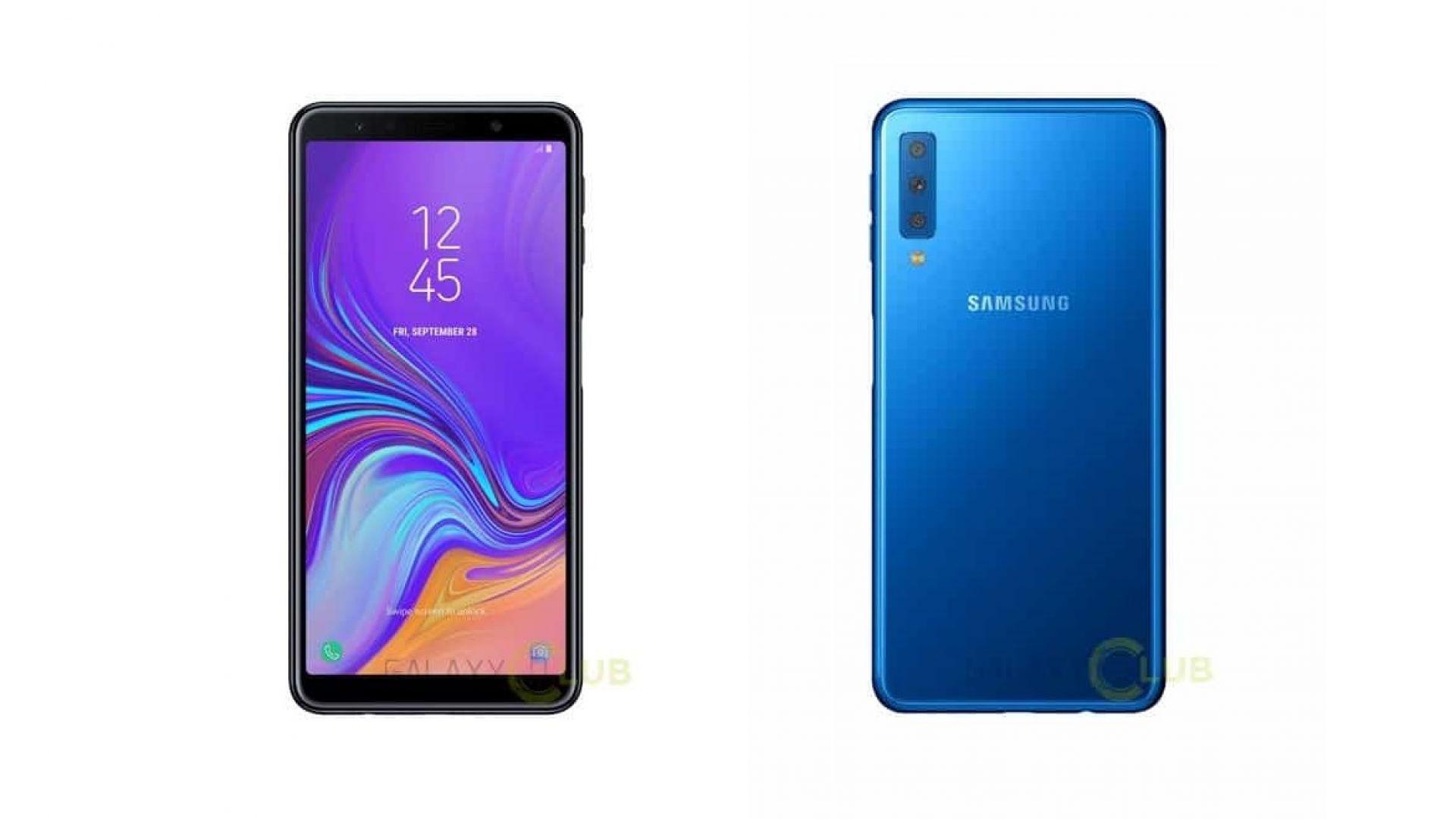 Samsung Galaxy A7 (2018) идва с тройна основна камера