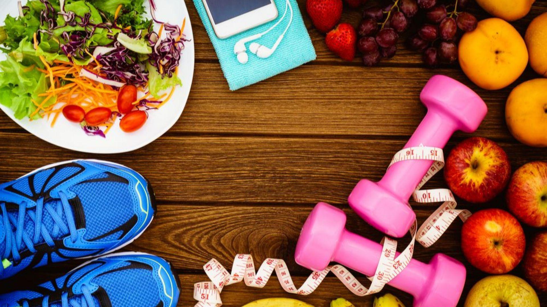 Фитнес диета за трайно отслабване