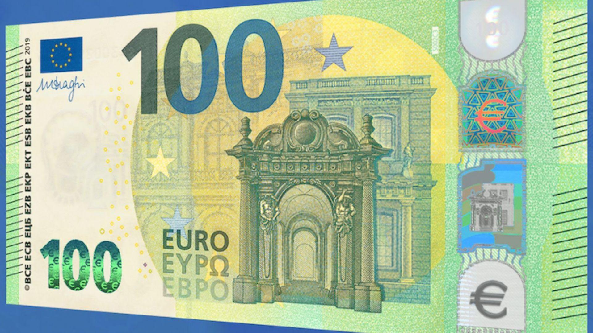 Новите 100 евро